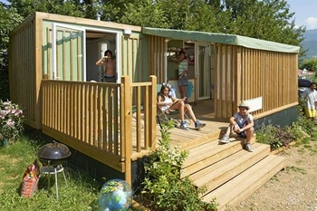 De Hybridlodge Clever Select - 35 m² - 5 personen van Vacanceselect