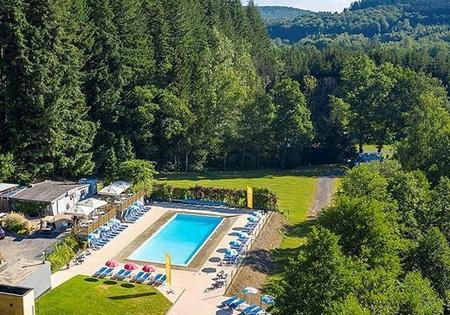 Camping parc la clusure in de belgische ardennen anwb for Camping belgique avec piscine