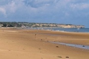 Omaha Beach is een bekend strand van D-Day