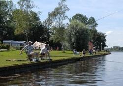Campings met viswater vissen for Viswater te koop belgie