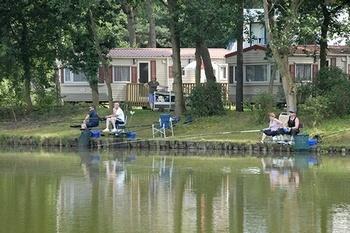 Vissen bij n van de oostappen parken for Viswater te koop belgie