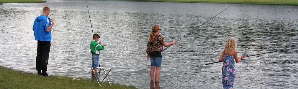 Campings met viswater belgie vissen for Viswater te koop belgie